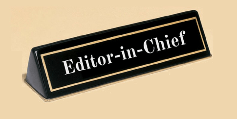 سردبیرمجله (Editor in chief)