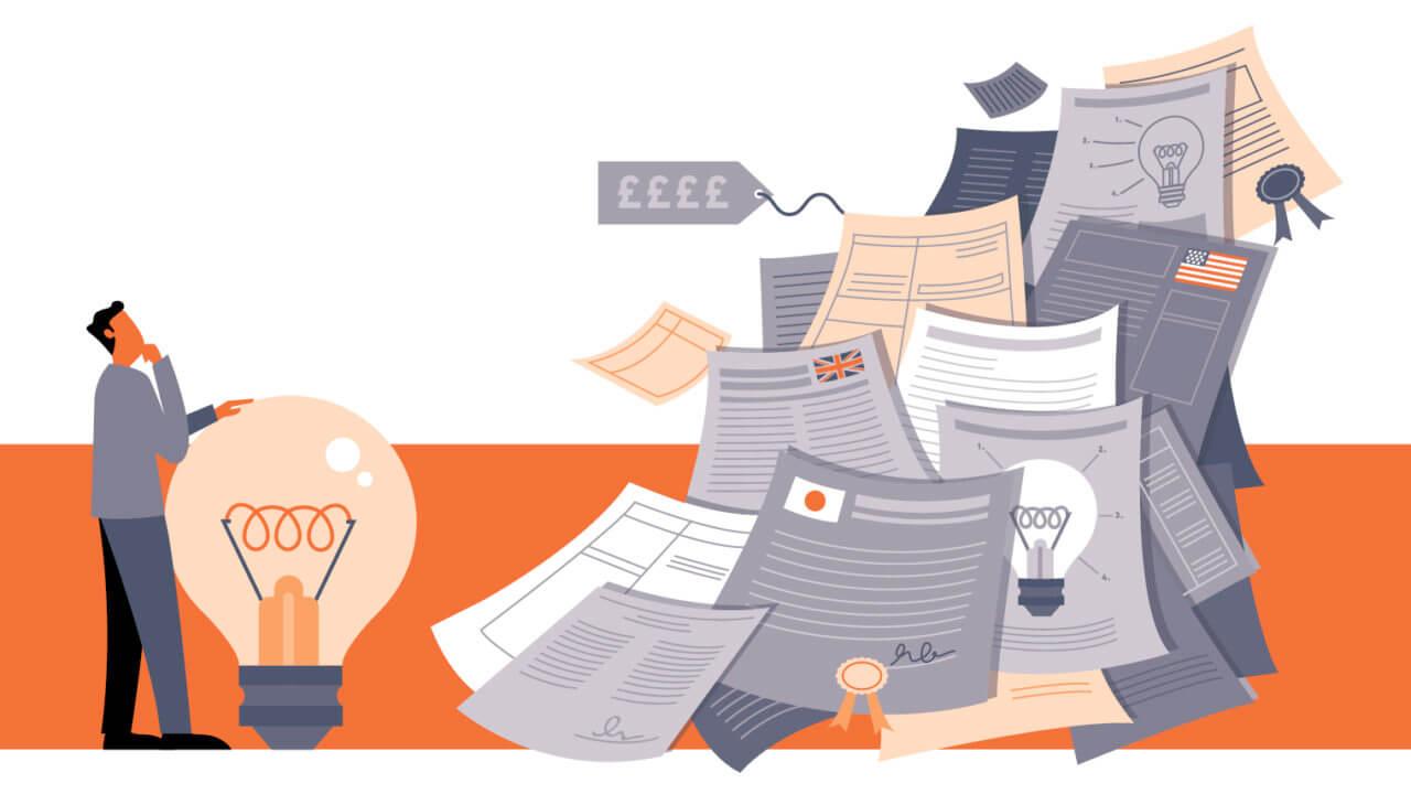 نکاتی در مورد ثبت اختراع تحقیقات